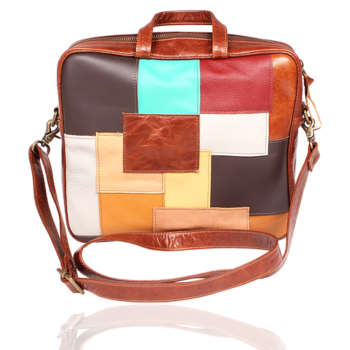 Designer Leather Laptop Bag