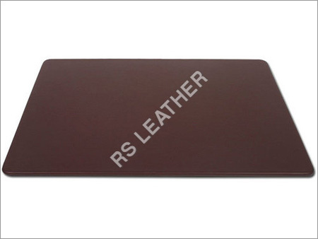 Brown Leather 38x24 Desk Mat