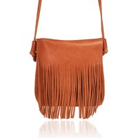 Mini Leather Fringe Bag