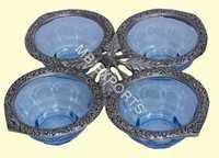White Metal Bowl Design