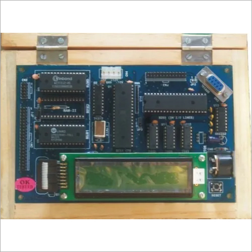 8051 Microprocessor Trainer Kit (LCD)