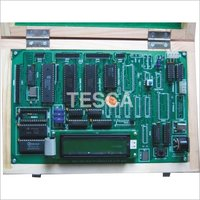 8051 Microcontroller Trainer Kit (LCD)