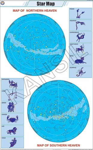 Star Map Chart