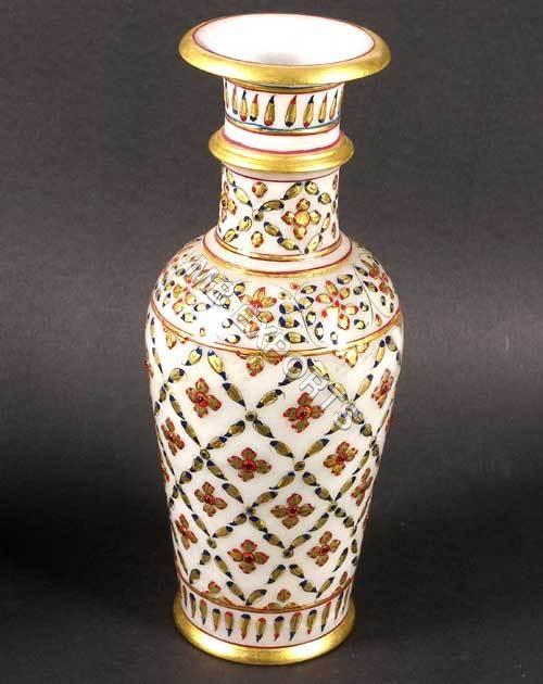 decorative marble vase anjali