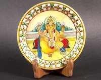 Ganesha Marble Painting