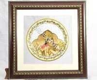 Krishna  Marble Painting