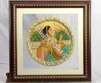 Meera marble painting