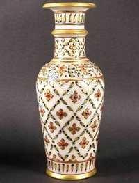 ornate marble vase