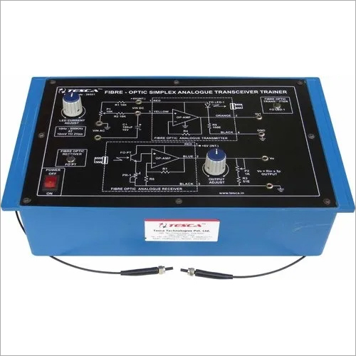 Fibre Optic Simplex Analogue Transceiver Trainer
