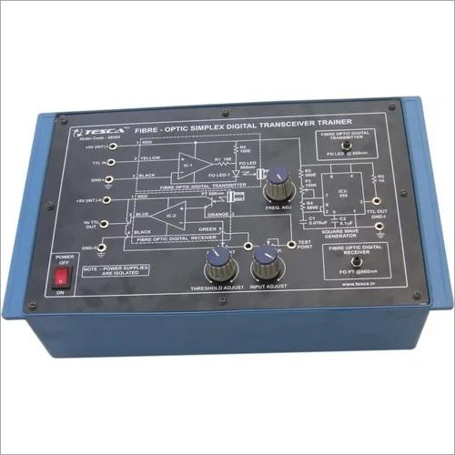 Fibre-Optic Simplex Digital Transceiver Trainer