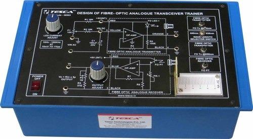 Advanced Fibre Optic Analogue Transceiver Trainer