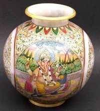 Marble Pot With Ganesha