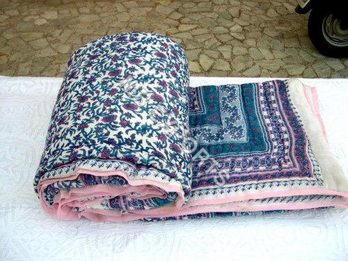 Cotton Floral Quilt