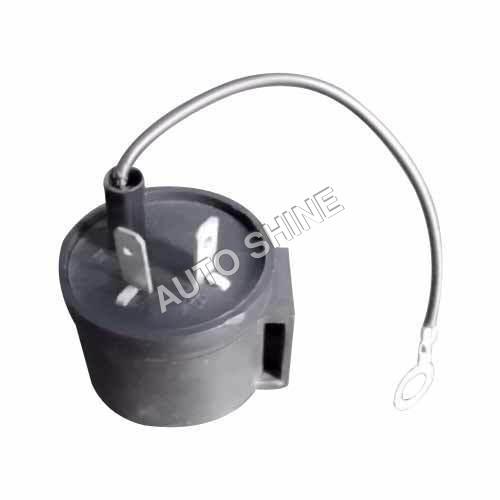 Indicator Round Buzzer Flasher 12 & 24 V (Bike)