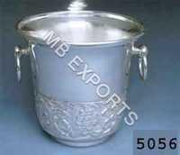 Metal Bucket On Handwork