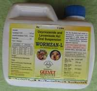 Oxyclozanide Livamisole Suspension