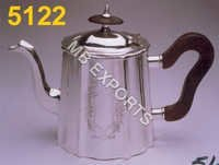 metal with kettle on design