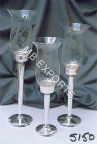 Metal Three Glass
