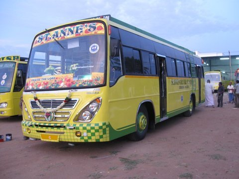Private School Bus