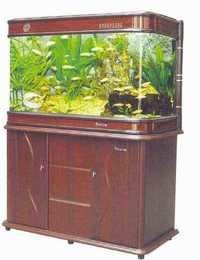 MJ-R9S 1380 SH Rosewood Aquarium Set