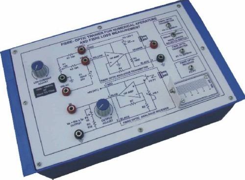 Fibre-Optic Trainer for Numerical Aperature and Fibre Loss Measurement