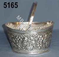 Metal Handwork Basket