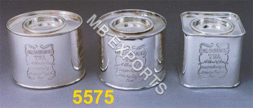 Metal Tea & Coffee Tin Box