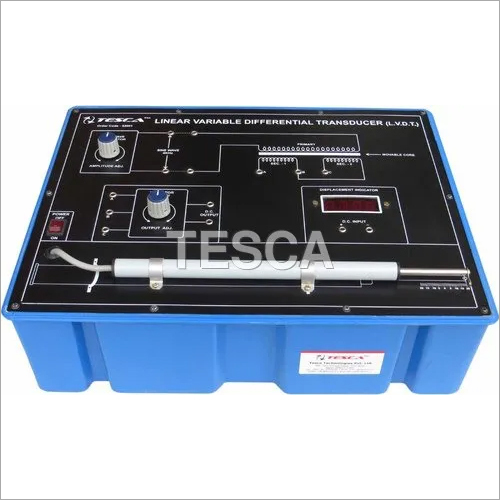 Linear Variable Differential Transducer LVDT Trainer