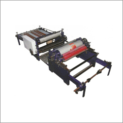 Automatic Web Flexographic Printing Cum Sheeting Machine Single Color