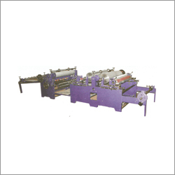 Automatic Web Flexographic Printing Cum Sheeting Machine Double Color