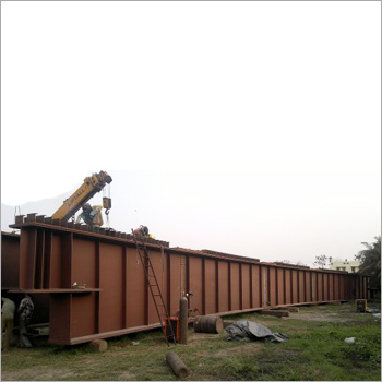 Trial  Assembly of Bridge Girder