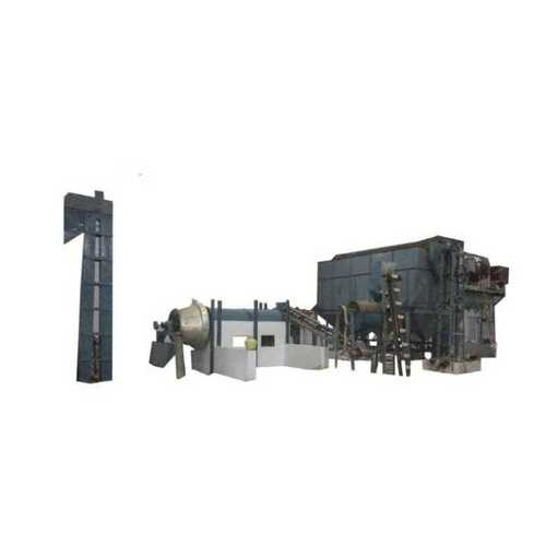 Automatic fried gram dall unit