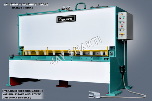 Variable Hydraulic Shearing Machine