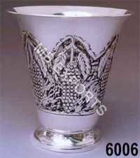 Metal Bowl With Design