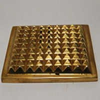 Antique Brass Pyramid