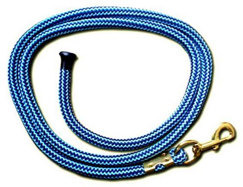 Poly pro knitted lead rope