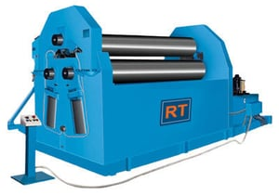 Three Roll Plate Bending Machine