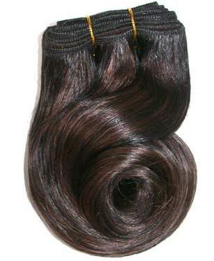Machine hair weft
