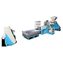 Two Stage Plastic Recycling Plant