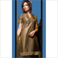 Antique Golden Designer Salwar Kameez