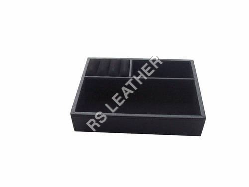 Leather & Leatherette Jewelry Tray