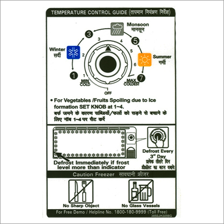 Customized Product Labels