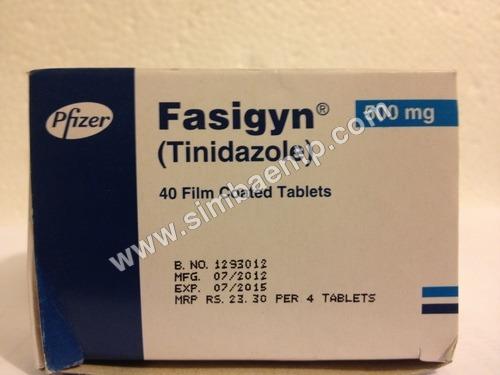 Fasigyn 500 mg Tab