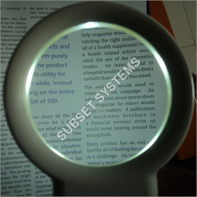 Illuminated Handheld Magnifiers