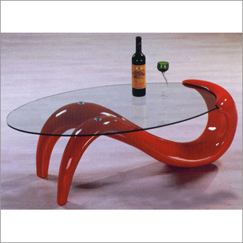 Glass Top Stylish Center Table
