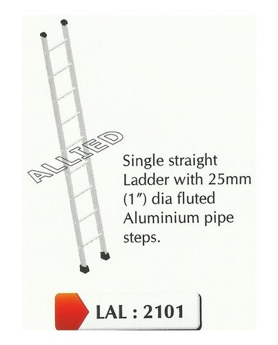 Aluminium Single Straight Ladder