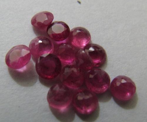 Ruby Cut Stone Round