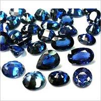 Blauer Saphir mischte Form-Schnitt