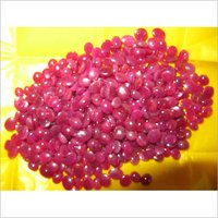 Dyed Ruby Cut STones