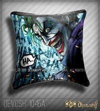 Velvet Cushion covers Digital Printed Joker ! Pop Art.